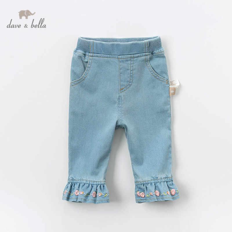 Dbz13495 Pantalones Con Bordado Floral Para Nina Pantalones De Moda Para Nina Pequena Pantalones Largos Para Nino Pequeno Pantalones Aliexpress