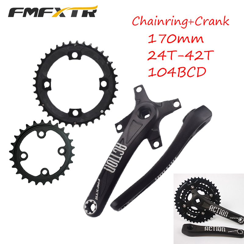 5X New Single Narrow Bike Chainring Screws Chainwheel Bolts Double//Triple Speed