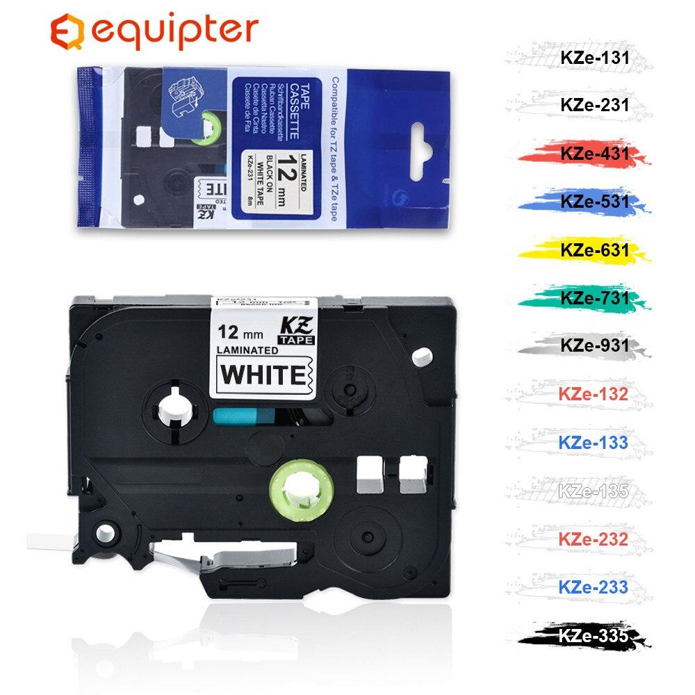 31 Color Tze Label Tape Compatible Brother P-Touch Printers Tze231 Tze-231 12 Mm For Brother P Touch Tze Labeler Tz231 Tze 231