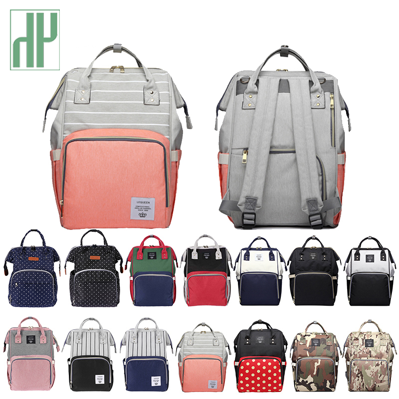 Diaper Bag Large Capacity Mummy Maternity Bag Multifunctional Wet Bag Backpack Baby Care Mom Washable Diaper Bags Cloth Bags