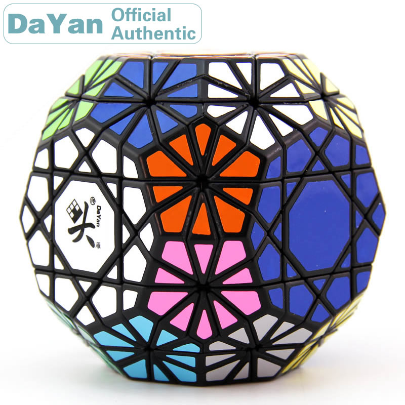 DaYan Gem VI Cube magique biaisé/biaisé professionnel vitesse torsion Puzzle Antistress Fidget jouets éducatifs pour les enfants