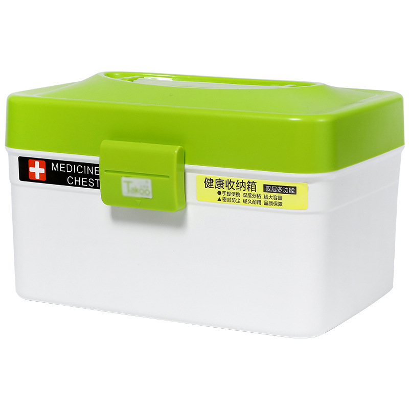 Hot Sale Medicine Box Family Pill Cases Plastic Medical Storage Box Multi-layer Large-capacity Medicine Box First Aid Pill Cases