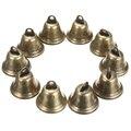 10 шт. 38 мм латунные рождественские украшения колокольчики кулоны для животных подвесные для фестиваля вечерние украшения колокольчики