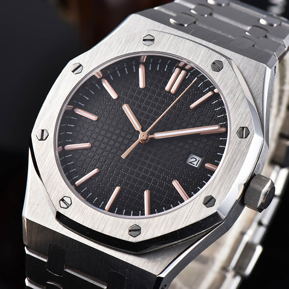 41mm Watch Men Top Luxury Brand 316L Stainless Steel Miyota Movement Automatic Mechanical Watch Men Waterproof Watches  - buy with discount