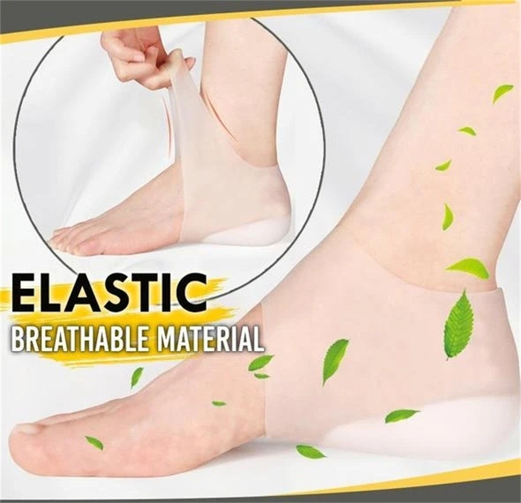 Invisible Concealed Footbed Enhancers Height Increase Silicone Insoles Pads US
