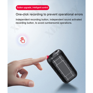 Image 4 - XIXI SPY 500 stunden Voice recorder Diktiergerät pen audio sound mini aktiviert digital professional micro stick