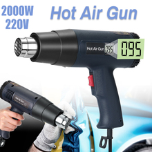 Hot-Air-Gun Display Nozzle Thermoregulator-Film Power-Tool Electric Digital 2000W 220V