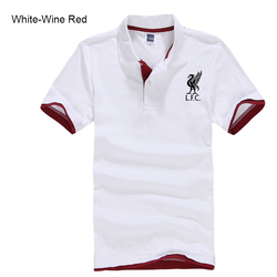 Men's Classic Lapel Printed Polo Shirt Fashion Simple Loose Casual Short Sleeve T-shirt