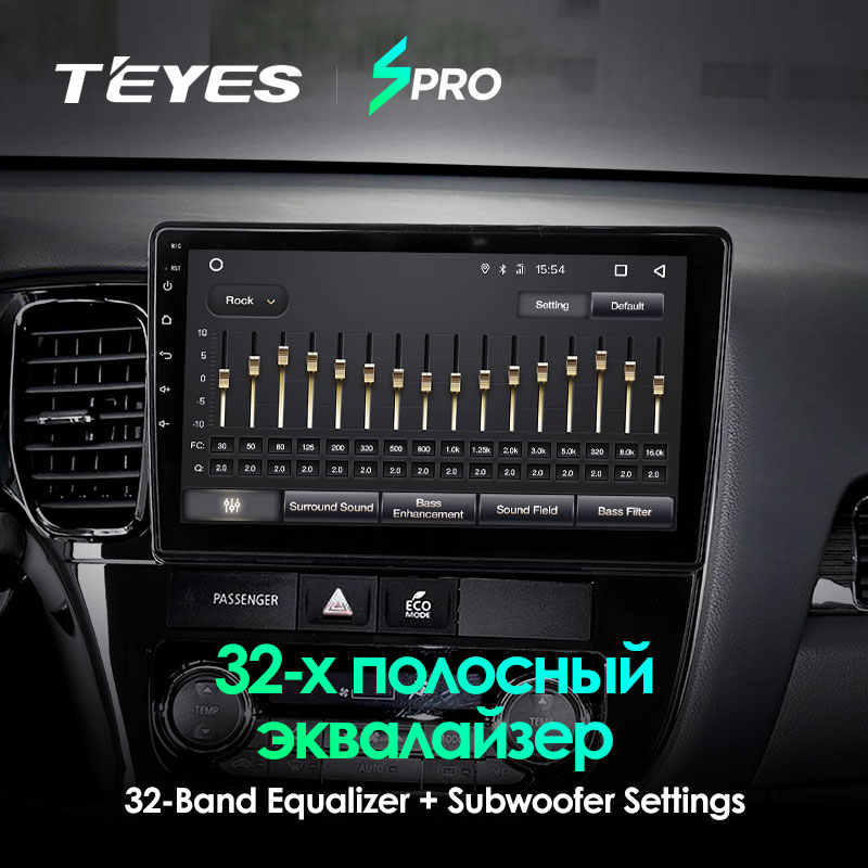 TEYES SPRO android car dvd gps multimedia player Per Mitsubishi Outlander xl 3 di navigazione per auto dvd radio video audio player