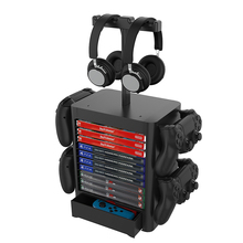 Storage-Rack-Holder Tower Bracket-Controller Game-Disc Xbox-One/nintend-Switch Multi-Functional