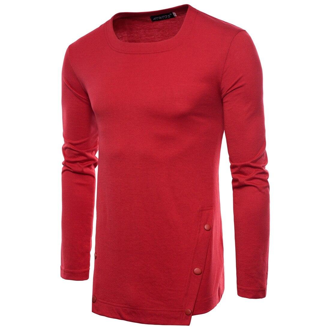Купить весенняя мужская повседневная рубашка однотонная футболка с
