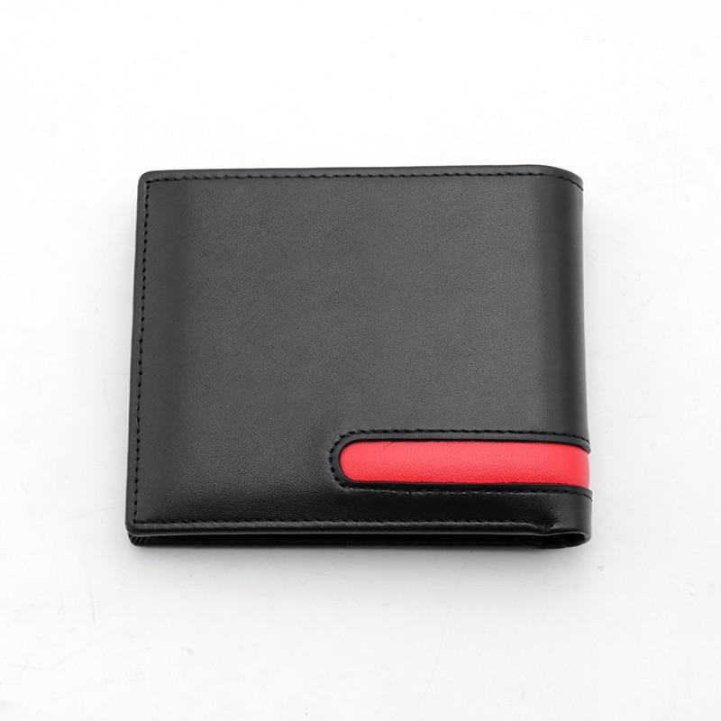Leather Men Wallet Car Driver License Holder Credit Card Wallet Men's gift wallet with brand car logo for Audi / BMW / Benz / Ho