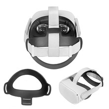Cushion Headband Comfortable 2-Vr-Accessories Oculus Quest TPU Pad Soft-Fixing