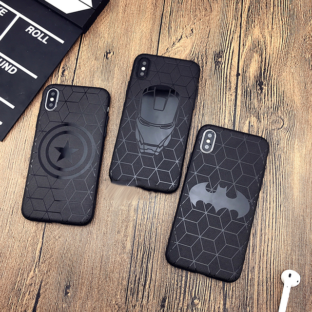 Heroes Black Phone Cases for Iphone (7 Designs) 2
