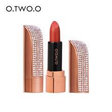 Lipstick Waterproof Pigment Makeup Cosmetic Moisturizing Semi-Velvet Twelve O.TWO.O Lightweight