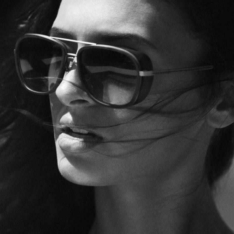 Tony Stark Iron męskie okulary przeciwsłoneczne okulary moda marka Retro kwadratowe okulary Steampunk okulary czerwona soczewka okulary przeciwsłoneczne pilotki UV400