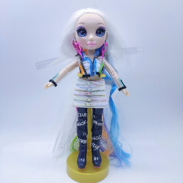 New Slem poopsie Big Sister Limited Edition Surprise Rainbow High School Fashion Hair Doll bella doll  Series 11 Inch Puppets 5