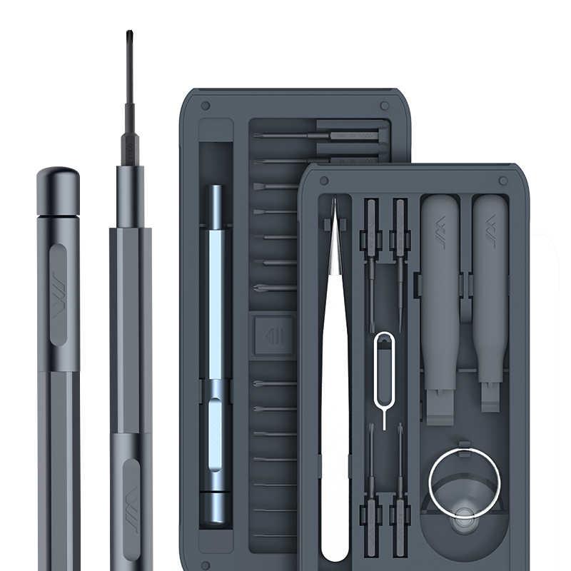 JIMI Новый 26 в 1 многоцелевой прецизионные отвертки комплект инструмента для ремонта винт DIY Драйвер набор w/пинцет