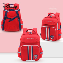 Disney Large Capacity Children's Waterproof Backpack Lightweight Fashion Mickey Mouse Boy's School Bag