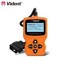 Vident ieasy200 obdii/eobd + pode leitor de código para verificação do veículo motor luz do carro ferramenta de verificação de diagnóstico