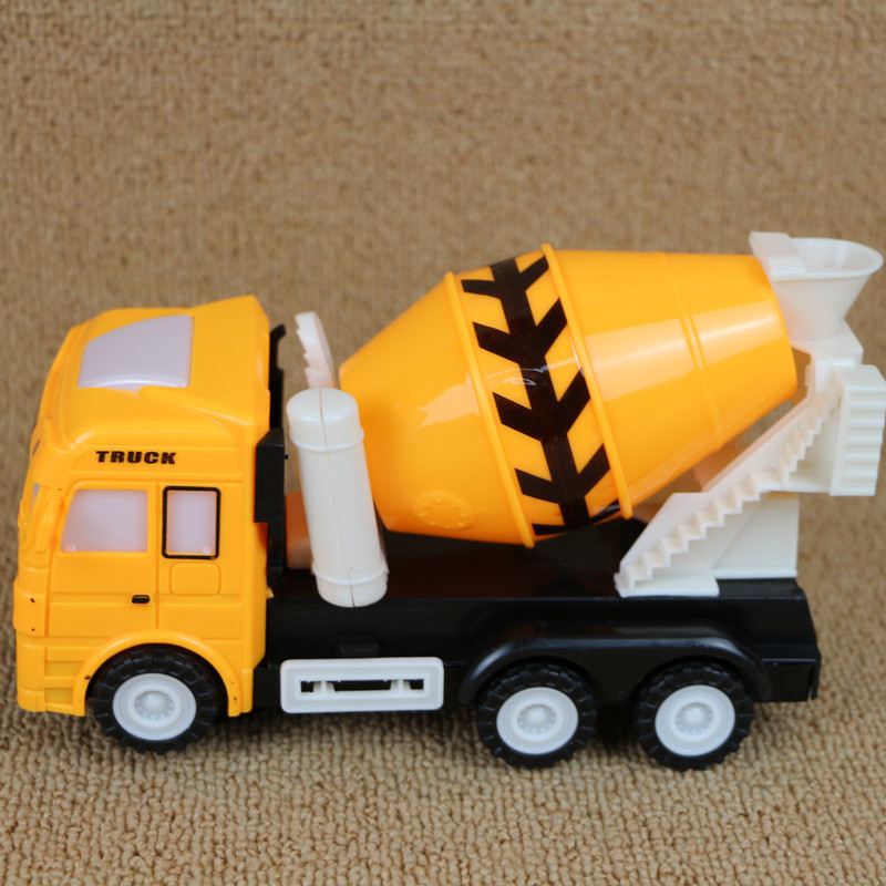 Music-Light Cement Mixer Model E-Bike Model GIRL'S And BOY'S CHILDREN'S Toy Stall Hot Selling
