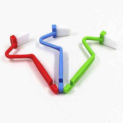 Piccolo Bagno Spazzola Per La Pulizia Igienica Angolo Rim Cleaner Bent Bowl Maniglia S modalità di Salute scopino