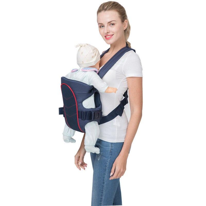 360 portador do bebê multifuncional respirável infantil
