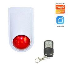 Outdoor Siren Strobe Waterproof Door-Sensor Motion-Alarm 433mhz Wireless Tuya And Alexa