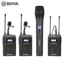 BOYA BY WHM8 Pro 핸드 헬드 마이크 UHF 무선 단방향 다이나믹 마이크 송신기 (무대 필름 ENG BY WM8 Pro 수신기 용)
