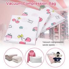Vacuum Storage Bag Compression Bag Travel Organizer 6 Size PA PE Space Saving Waterproof Package Electric Pump Bags Clothing