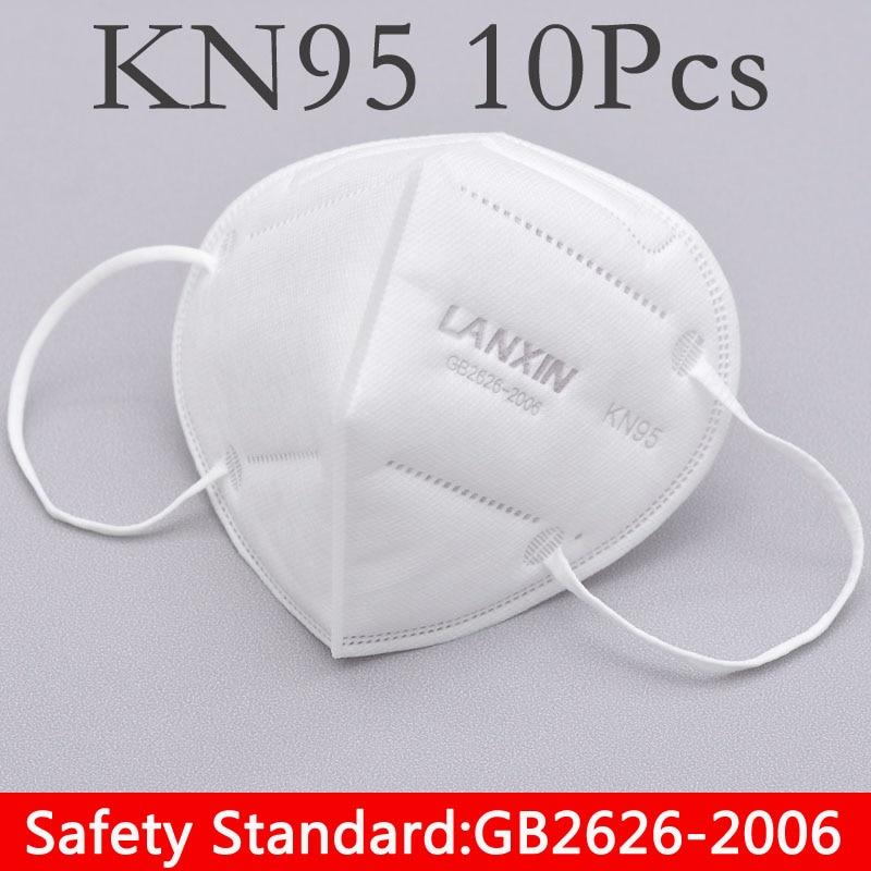 10pc/Bag Maternity Mask Unisex Mask Filter Anti Dust Mask Pollution Mask Cotton Mouth Mask Anti-fog Respirator Reusable Mask