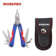 WORKPRO 13 w 1 narzędzia wielofunkcyjne mini szczypce kompaktowe noże śrubokręt otwieracz narzędzia wielofunkcyjne narzędzie survivalowe