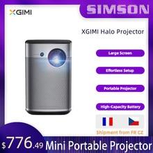 XGIMI-miniproyector portátil Halo, 1080P, Full HD, 3D, cine en casa, Android TV 9,0, Wifi, con batería, Google 800, ANSI, lumensn