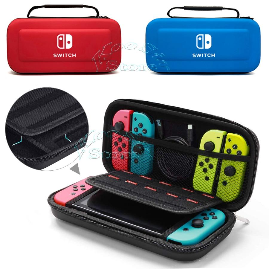 Prenosna ročna torba za konzolo Nintendo Switch konzola EVA dodatki - Igre in dodatki - Fotografija 2