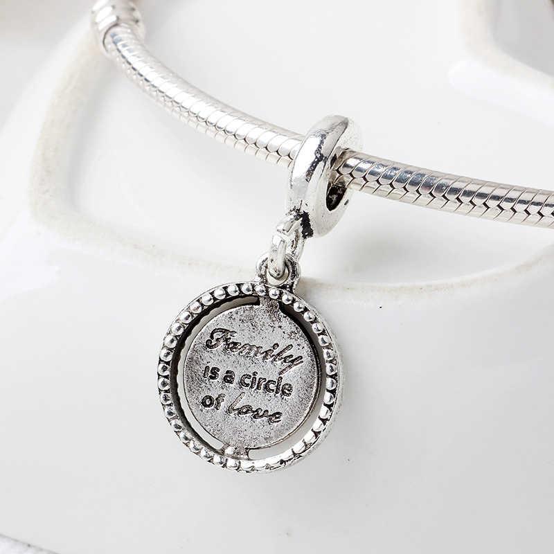 CUTEECO 2019 Новое дерево жизни Подвесные приспособления оригинальный Pandora браслет для женщин DIY модные ювелирные бусы аксессуары