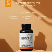 NewZealand ABM MitoQ Brain Health Tablet Cellular Energy For Brain Cognitive Healthy Ginkgo Biloba Extract Tonifying Brain Pills
