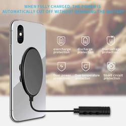 Ośmiornica przyssawka bezprzewodowa ładowarka do iPhone Xs/Xr/Xs Max bezprzewodowa podstawka ładująca do Samsung Galaxy S9/S9 + dla Xiaomi 9 nowy w Ładowarki od Elektronika użytkowa na