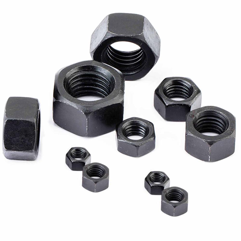 Aluminum, M4 12 Piece Nuts Aluminum DIN 934 Material Aluminum M4, M5, M6, M8