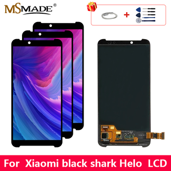 """6.01"""" Original AMOLED LCD For Xiaomi MI Black Shark Helo LCD Display Sreen Touch Digitizer Replacement Assembly Parts 100%Tested"""