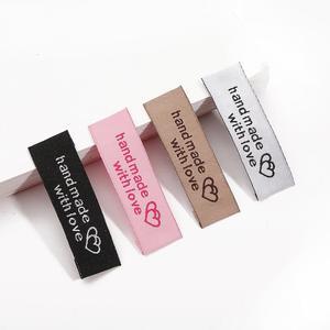 High Quality Custom Satin Printed Clothing Care Label, Clothing washing Labels Satin Label Printing Recycled