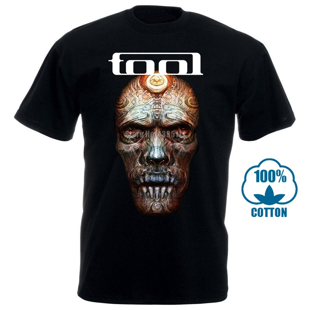 Quality   T     Shirts   Men Printing Short Sleeve O Neck Tshirt Tool Band   T     Shirt   ( Black ) S 5Xl