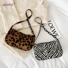 Zebra Printed Crossbody Bags Shoulder Handbags Female Simple Animal PatternSmall Summer Lady Totes for Women 2020 Trend