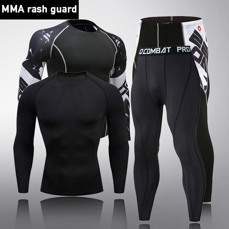 Clothing Underwear Shirt Thermal-Pants Sports-Set Winter Large-Size Men'S Warm title=