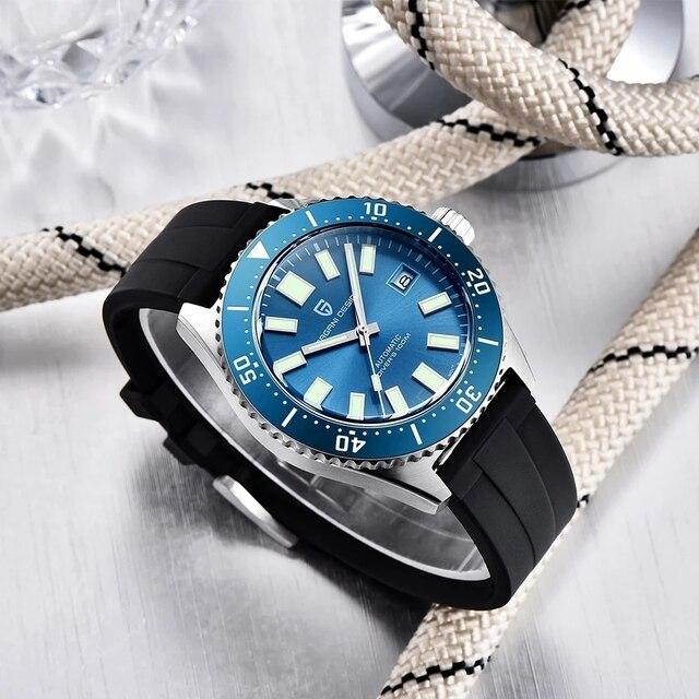 часы pagani design мужские механические роскошные деловые брендовые фотография