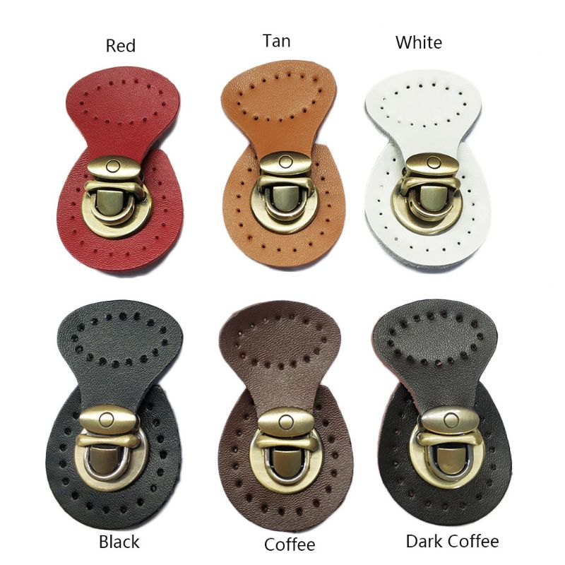 Artificial Leather Magnetic Button Lock Bag Snap Closure Buckle Clasp Replacement DIY Handbag Purse Sewing Accessories