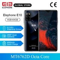 ELEPHONE E10 MT6762D Octa Core de Smartphones 6.5