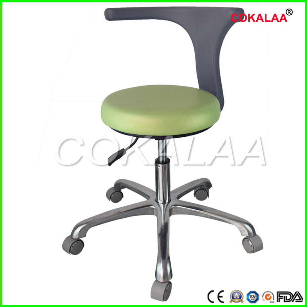 Dental Medical Dentist's Chair Seat Adjustable Rolling Chair With Back Anti-static Beauty Stool Salon Barber Dental Chair