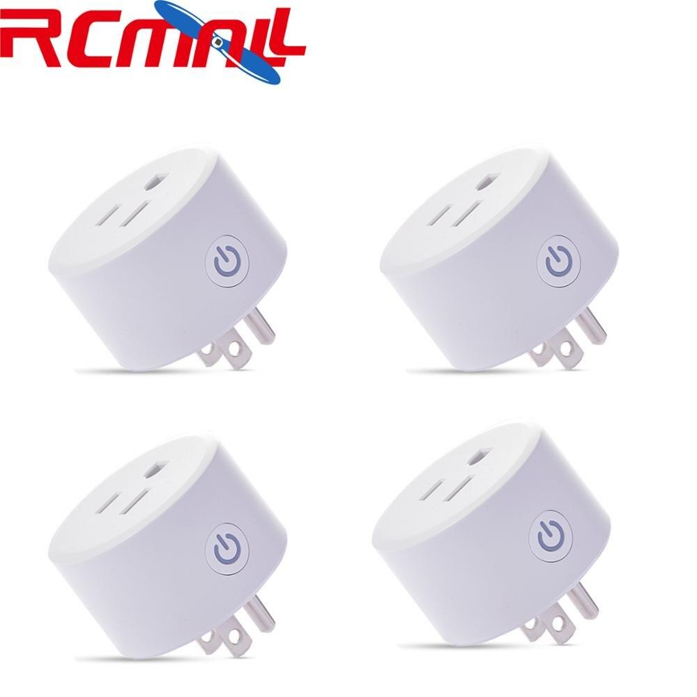4Pcs/lot DoHome HomeKit Smart Plug Socket Outlet Switch Works With Apple Home APP Alexa/Google Assistant Timer For Smart Home