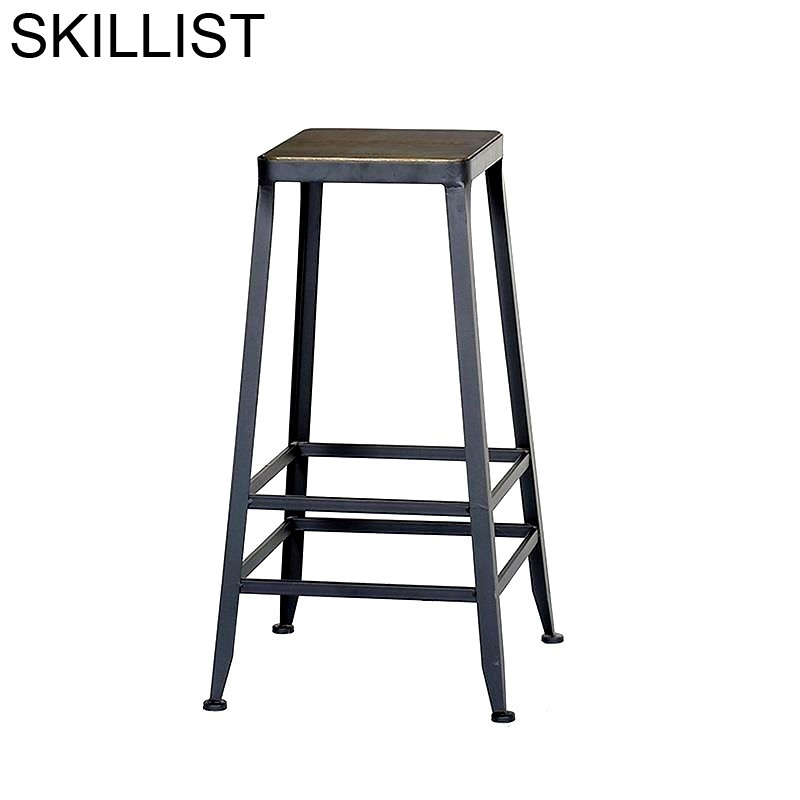 Banqueta Stoelen Kruk Fauteuil Comptoir Stuhl Table Hokery Shabby Chic Stool Modern Cadeira Tabouret De Moderne Bar Chair