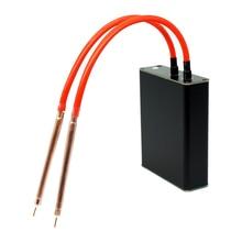 4,2 V Mini Spot Welder Tragbare Batterie Spot Schweißen Maschine Automatische schweißen Werkzeuge Schweißen Stift 0,15 Nickel streifen 18650 Batterry